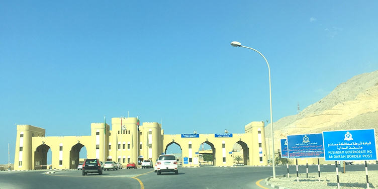 UAE Oman Border Crossing
