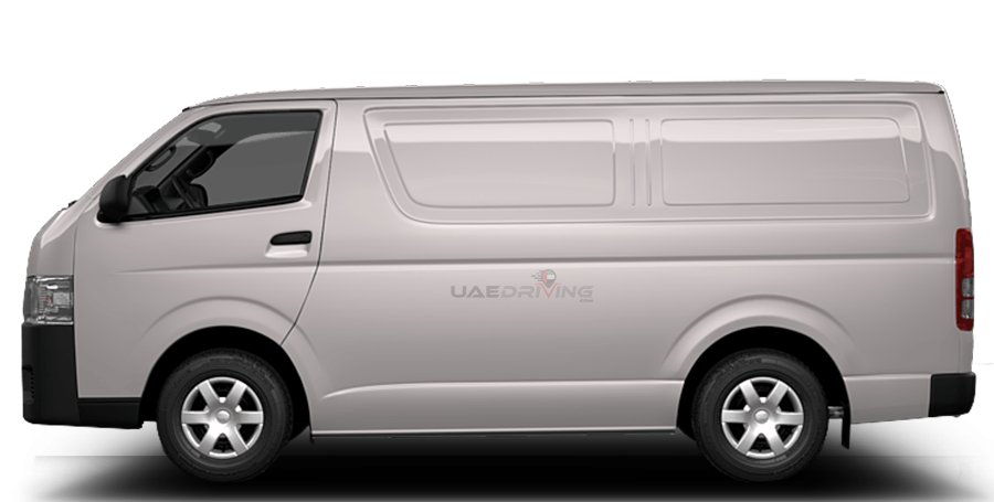 toyota hiace delivery van