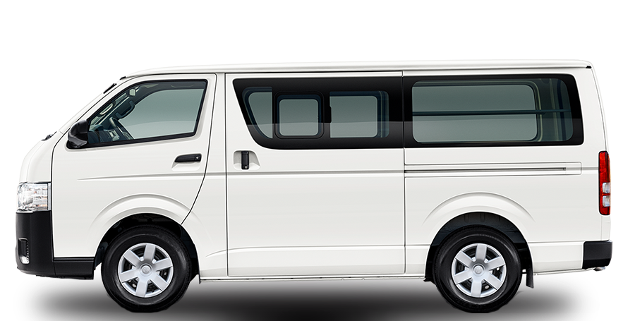 toyota hiace 13 seater